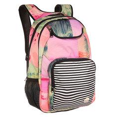 Рюкзак школьный женский Roxy Shadow Malibu Photoprint