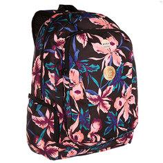 Рюкзак школьный женский Roxy Alright True Black Maui Ligh
