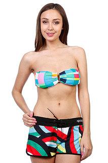 Бюстгальтер женский Rip Curl Mozaic Check Bandeau Swimming Pool