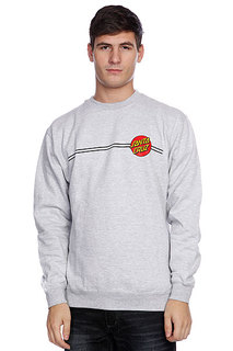 Толстовка Santa Cruz Classic Dot Crew Grey Heather