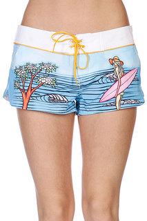 Шорты пляжные женские Rip Curl Surf Story Boardie White