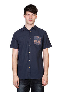 Рубашка Rip Curl Panel Craft Shirt Mood Indigo