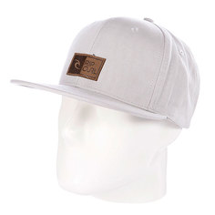 Бейсболка Rip Curl Killer Snap Tab Cap Grey Fog