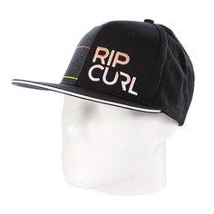 Бейсболка Rip Curl Aggrogame Mid Peak Cap Black