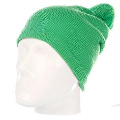 Шапка с помпоном женская Rip Curl Scandi Beanie Classic Green