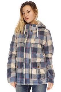 Куртка зимняя женская Rip Curl Driftwood Jacket Dress Blue