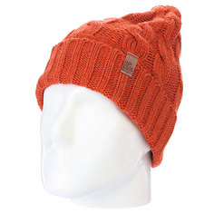Шапка вязаная Rip Curl Fishos Beanie Orange Marle