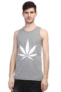 Майка TrueSpin Cannabis Grey