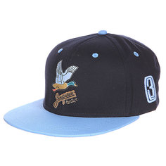 Бейсболка Запорожец Дичь Logo Navy/Light Blue