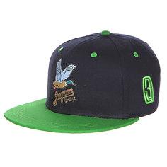 Бейсболка Запорожец Дичь Logo Navy/Green