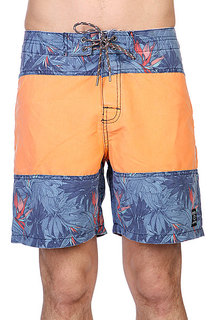 Шорты Rip Curl Tth Trunk 18 Orange/Blue