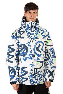 Куртка Quiksilver Mission Print Cave Rave White