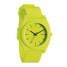 Часы Nixon Time Teller P Neon Yellow