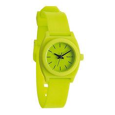 Часы женские Nixon Small Time Teller P Lime
