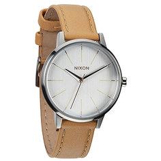 Часы женские Nixon Kensington Leather Natural/Silver