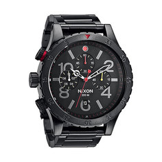 Часы Nixon 48-20 Chrono All Black/Multi