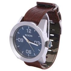 Часы Nixon Corporal Brown/Blue Sunray