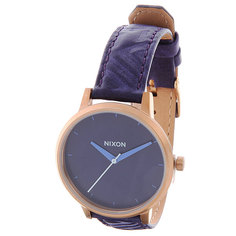 Часы Nixon Kensington Leather Cobalt/Mod