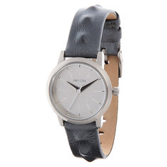 Часы женские Nixon Kenzi Leather All Silver/Studded