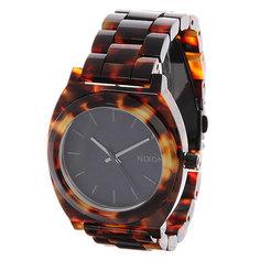 Часы женские Nixon Time Teller Acetate Tortoise