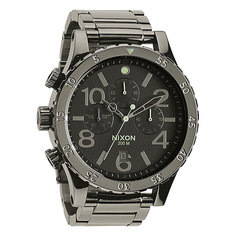 Часы Nixon 48-20 Chrono Polished Gunmetal/Lum