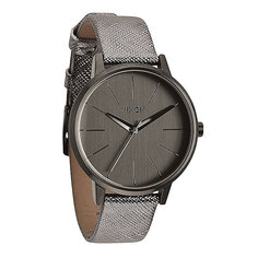 Часы женские Nixon Kensington Leather Gunmetal Shimmer