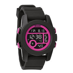 Часы Nixon Unit 40 Black/Magenta