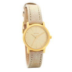Часы женские Nixon Kenzi Leather Gold Shimmer