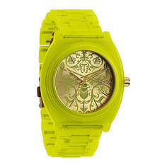 Часы женские Nixon Time Teller Acetate Neon Yellow/Beetlepoint