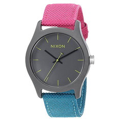 Часы женские Nixon Mod Acetate Charcoal/Pink/Teal