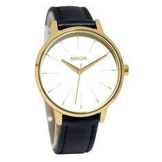 Часы женские Nixon Kensington Leather Gold/White/Black