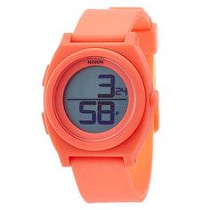 Часы Nixon Time Teller Digi Bright Coral