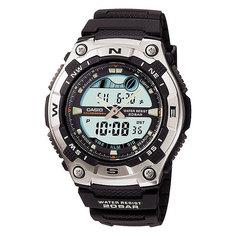 Часы Casio Collection Aqw-100-1a Black/Grey