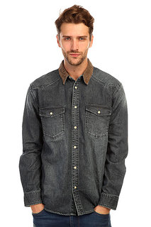 Рубашка Quiksilver Gaurentour Dark Denim