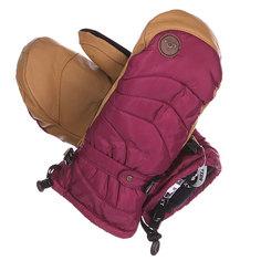 Варежки сноубордические женские Roxy Victoria Mitt Magenta Purple