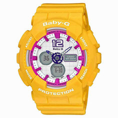 Часы детские Casio G-Shock Baby-G Ba-120-9B Yellow