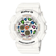 Часы детские Casio G-Shock Baby-G Ba-120Lp-7A1 White