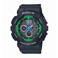 Часы детские Casio G-Shock Baby-G Ba-120-1B Black