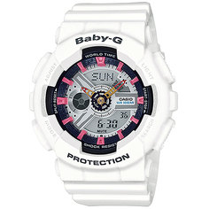 Часы детские Casio G-Shock Baby-G Ba-110Sn-7A White