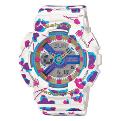 Часы детские Casio G-Shock Baby-g Ba-110fl-7a White/Purpule