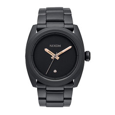 Часы Nixon Kingpin All Black/Rose Gold