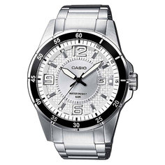 Часы Casio Collection Mtp-1291d-7a Silver/Black