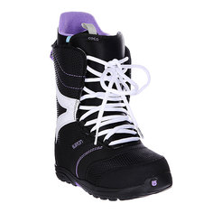 Ботинки для сноуборда женские Burton Coco Black/True Purple