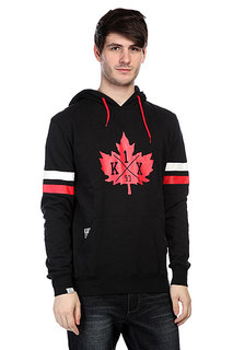 Кенгуру K1X Leaf Hockey Hoody Black/Red