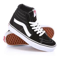 Кеды кроссовки высокие Vans Sk8-Hi Black/White