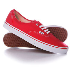 Кеды кроссовки низкие Vans Authentic Red
