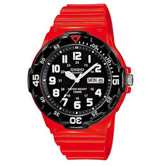 Часы Casio Collection Mrw-200hc-4b Red/Black