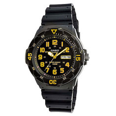 Часы Casio Collection Mrw-200h-9b Black/Yellow
