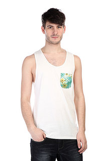 Майка Globe Tropical Singlet White