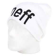 Шапка носок Neff Form White